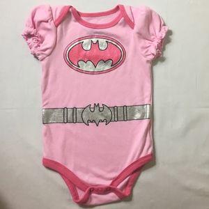 Batman Pink Onesie